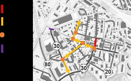 Augmentation estimée du trafic par les signataires de l'interpellation (en tenant compte de la fermeture au trafic du tronçon de l'avenue de la Gare, non effective en date du 01.11.2020)