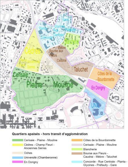 Carte des « quartiers apaisés » (Préavis 52/2020)