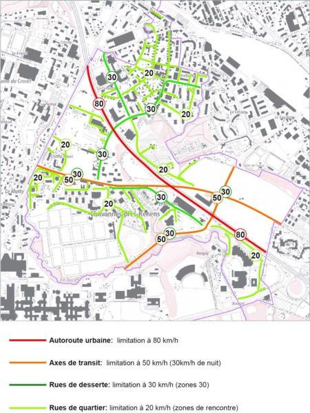 Concept de modération de la vitesse sur le territoire communal (Préavis 52/2020)